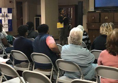 Nami Augusta April 12th, 2018 Seminar with Dr. Aleiya Butler