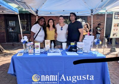 Saturday Market - Augusta University Psychiatry Interns (September 2018)