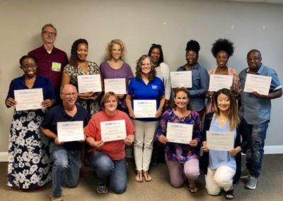 NAMI Family Support Group Facilitator Training, July 2019