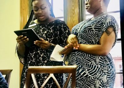 Recognizing NAMI Augusta President, Hillary Gaines, July 2019
